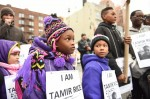 ANDY KATZ/PACIFIC PRESS/LIGHTROCKET VIA GETTY IMAGES Children protest Tamir Rice's death in New York City in November 2015. Cleveland announced a $6 million settlement with Tamir's family on April 25, 2016.