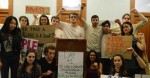 Columbia students spent the night in administrative buildings for the second week of sit-ins. (Photo: Columbia Divest for Climate Justice)