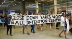 Protests against detention of migrants