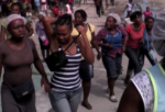 Textile workers mobilize for the minimum wage May 11, 2016 in Port-au-Prince.