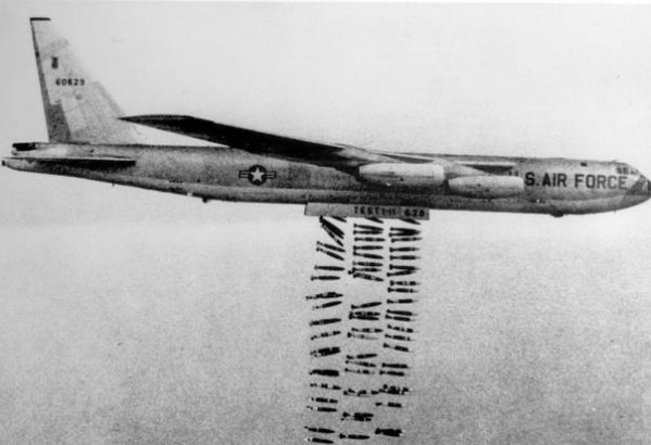 Tough not to call it a war crime when the U.S. dropped more bombs during the Vietnam War than it had on Germany during World War II. (Photo: Public Domain)