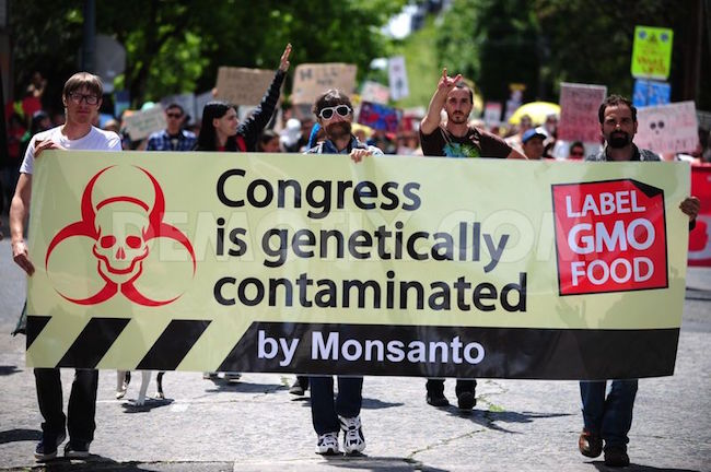 the role of the bill which mandates genetically modified foods