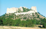 Crow Butte, seen from the south, has historical and cultural significance for tribal opponents of uranium mining at the landmark in northeastern Nebraska. COURTESY/Panhandle Trails