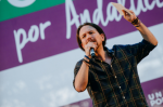 Pablo Iglesias, leader of Spain's Podemos Party.