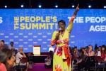 Nina Turner, a former Ohio state senator, speaks to the crowd at The People's Summit at McCormick Place in Chicago, June 18, 2016. (Photo: Kelly Wenzel / The New York Times)