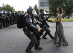 Baton Rouge police arrest peaceful woman