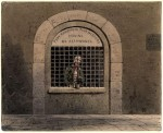 "Often considered relics of the past, debtors' prisons still exist in the U.S., but lawsuits by civil rights groups are making progress toward shutting them down. (Nineteenth century painting of ""A Debtor in Fleet Street Prison"" by the English artist Thomas Hosmer Shepherd via Wikimedia.)"