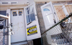 A foreclosed home up for auction is seen in the Queens borough of New York. (Reuters / Shannon Stapleton)