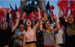A pro-government rally in central Istanbul on Saturday. (photo: Emrah Gurel/AP)