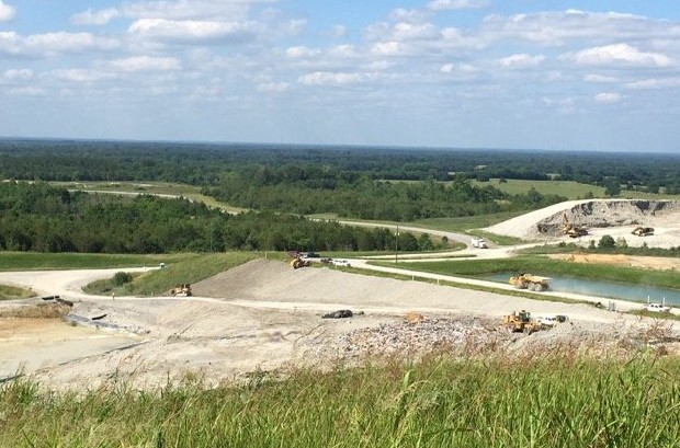 The Arrowhead landfill in Uniontown, Ala., has drawn complaints from residents since it opened in 2007, and more since it started accepting coal ash in 2008. Photo courtesy of Michael D. Smith