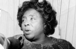 Civil rights leader Fannie Lou Hamer bore witness to the violence of Jim Crow and demanded inclusion of black delegates in the Democratic Party. (Afro American Newspapers/Gado/Getty Images)