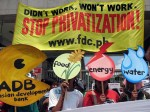 Privatization protest food energy water