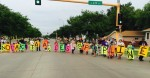 Protest in Bismark, ND against Dakota Pipeline 8-16