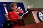 Unseated Florida prosecutor Angela Corey. Win McNamee/Getty Images
