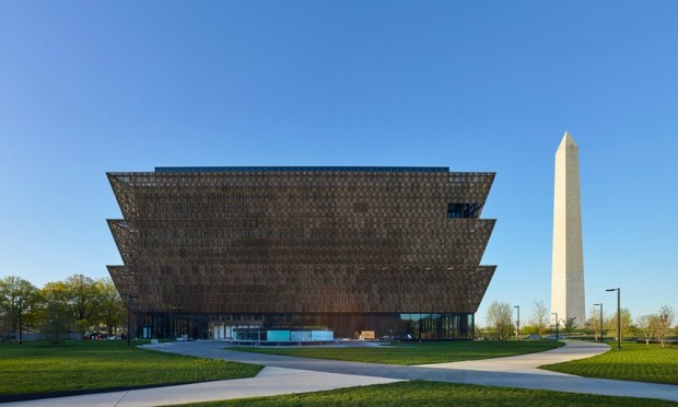 The building for the Smithsonian National Museum of African American History and Culture was designed by Tanzanian-born Briton David Adjaye. Photograph: Alan Karchmer