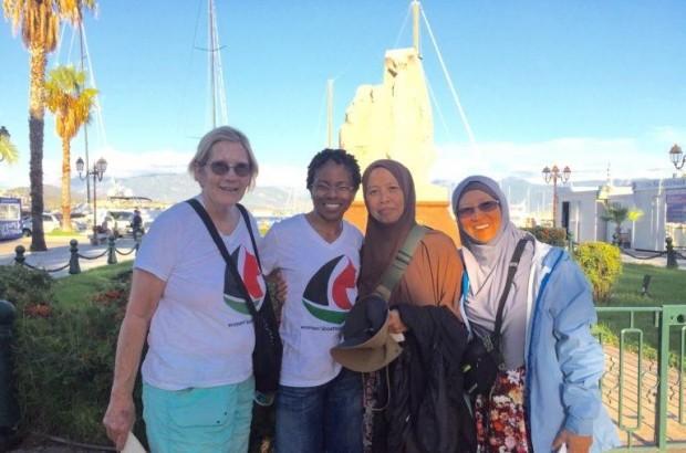 From Left to Right: Ann Wright, LisaGay Hamilton, Norsham Binti Abubakra, Dr. Fauziah Hasan