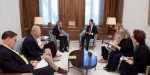 US Peace Council delegation meets with President Assad of Syria.