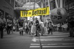 Activists protest the Trans-Pacific Partnership (TPP) in Seattle, Washington, on June 24, 2016. (Photo: Backbone Campaign; Edited: LW / TO)
