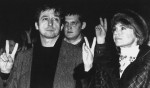 ASSOCIATED PRESS Peace activist Tom Hayden, left, and actress Jane Fonda inn 1987.