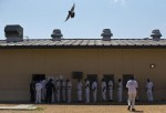 Inmates at the correctional facility in Elmore, Ala. (Brynn Anderson / AP)
