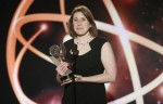 Deia-Schlosberg-filmmaker-with-award-CREDIT-DANNY-MOLOSHOK-for-INVISION-and-AP