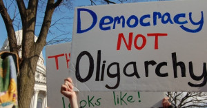 Democracy Not Oligarchy