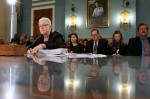 Environmental Protection Agency Administrator Gina McCarthy testifies during a Congressional hearing on February 11, 2016. The EPA has come under fire for how it handles environmental discrimination concerns. Credit:Mark Wilson/Getty Images