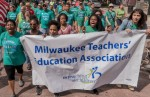 Educators, students, parents, and community activists in Milwaukee are fighting for the very survival of their public school system. Photo: MTEA