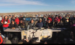 NoDAPL press conference responding to Army Corp eviction, Nov 26 2016