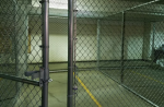 Jailed protesters say they were temporarily kept in cages that felt like 'dog kennels', but officials say the allegations of poor treatment are untrue. Photograph: Morton County correctional center