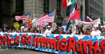 Immigrant rights protesters take part in a May Day rally in Chicago. (Photo: Payton Chung/flickr/cc)