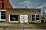 A shuttered garage in Milton, IA. Pete Zarria / Flickr 4.42k