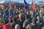 Water protectors at Standing Rock are celebrating a victory after a permit needed for construction was denied (Sumaya Awad   SW)