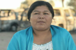 Human Rights lawyer and legal representative for the Yaqui Tribe, Anabela Carlon Flores | Photo: Radio Popular Enrique Torres