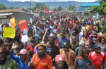 Independence protestors march in Wamena, West Papua, Dec. 19. 2016. | Photo: Free West Papua