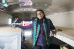 Vanessa Red Bull, a medical provider at Standing Rock, told InsideClimate News that she won't leave the Dakota access pipeline protest camp until the last person leaves. Credit: Cassi Alexandra