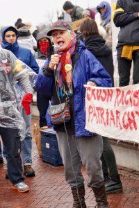 Speaker at Columbus Circle
