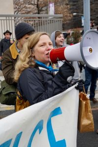 Green Party activist Margaret Flowers