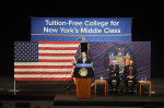 Cuomo Announcing Free Tuition Plan 1-3-17