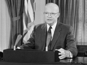 In his final speech from the White House, President Dwight D. Eisenhower warned that the military would gain to much power if it were not stopped. Now his fear has become reality. Bill Allen/AP