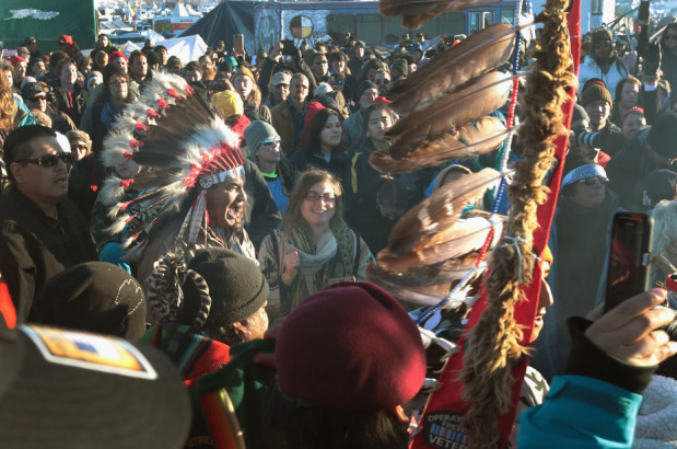 The success of the Native Americans opposing the Dakota Access pipeline has inspired other tribes, including a band of Chippewa Indians in Wisconsin, to oppose other projects on tribal land. Credit: Getty Images