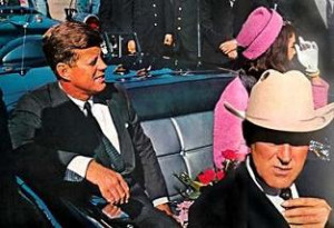 JFK with Jackie Kennedy and Governor Connolly just before he was assassinated