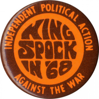 King Spock button independent action against war