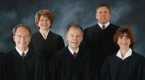 North Dakota Supreme Court (Front) Chief Justice Gerald W. VandeWalle, Justice Dale V. Sandstrom, Justice Mary Muehlen Maring, (Back) Justice Carol Ronning Kapsner, Justice Daniel J. Crothers