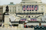 On Jan. 19, the Capitol building is readied for the Inauguration of Donald Trump./Photo by Anne Meador