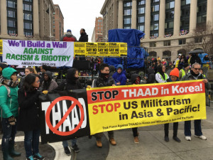 Thaad Protest in South Korea