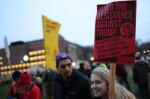 A protest sign at a march in Minneapolis, Minnesota, on November 29. (Photo: Fibonacci Blue/flickr/cc)