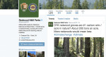 This photo shows a Twitter post from the National Park Service's Redwoods National Park account. | AP Photo