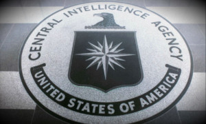 CIA seal in lobby of the spy agency's headquarters. (U.S. government photo)