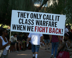 Class war only when we fight back